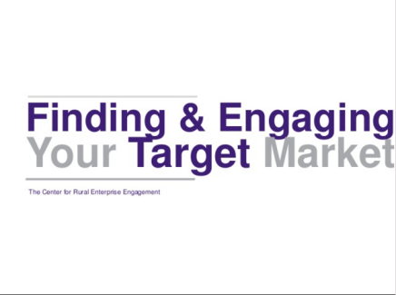 Finding and Engaging Your Target Audience