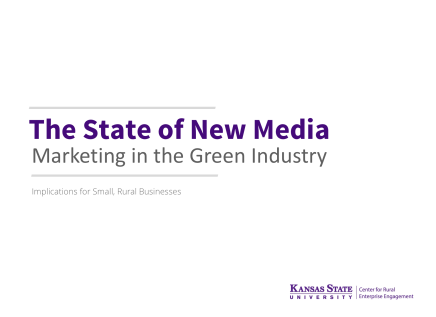 The State of New Media Marketing