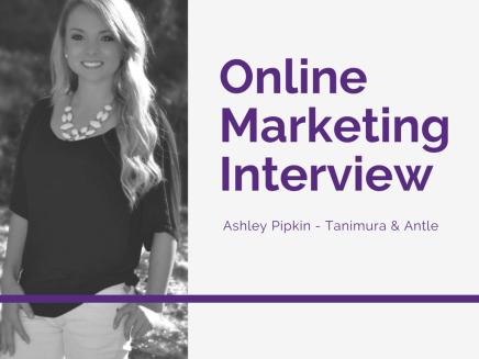 Online Marketer Interview