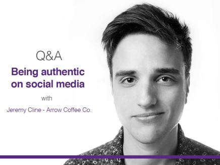 Q&A with Arrow Coffee Co. on being #authentic